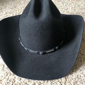 0bd566cf575 cavenders Accessories - Cavenders Black Wool Cowboy Hat